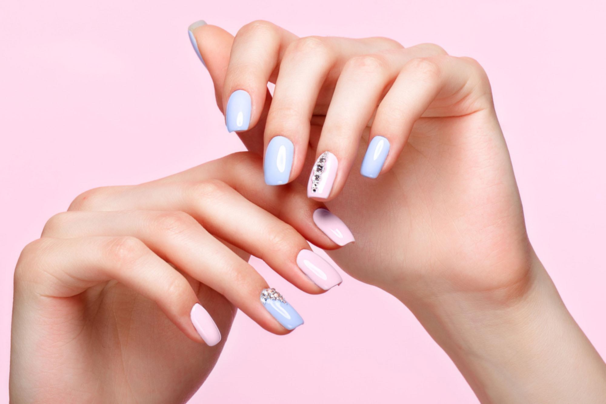 estetista refill nails refil mani unghie piedi